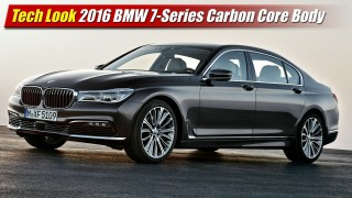 Tech Look: 2016 BMW 7-Series Carbon Core Body