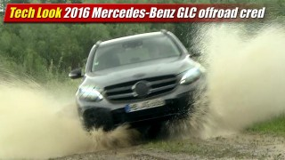 Tech Look: 2016 Mercedes-Benz GLC offroad cred