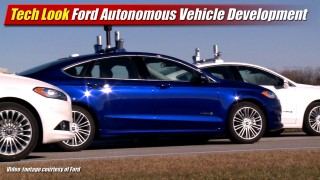 Tech Look: Ford Autonomous Vehicle Development