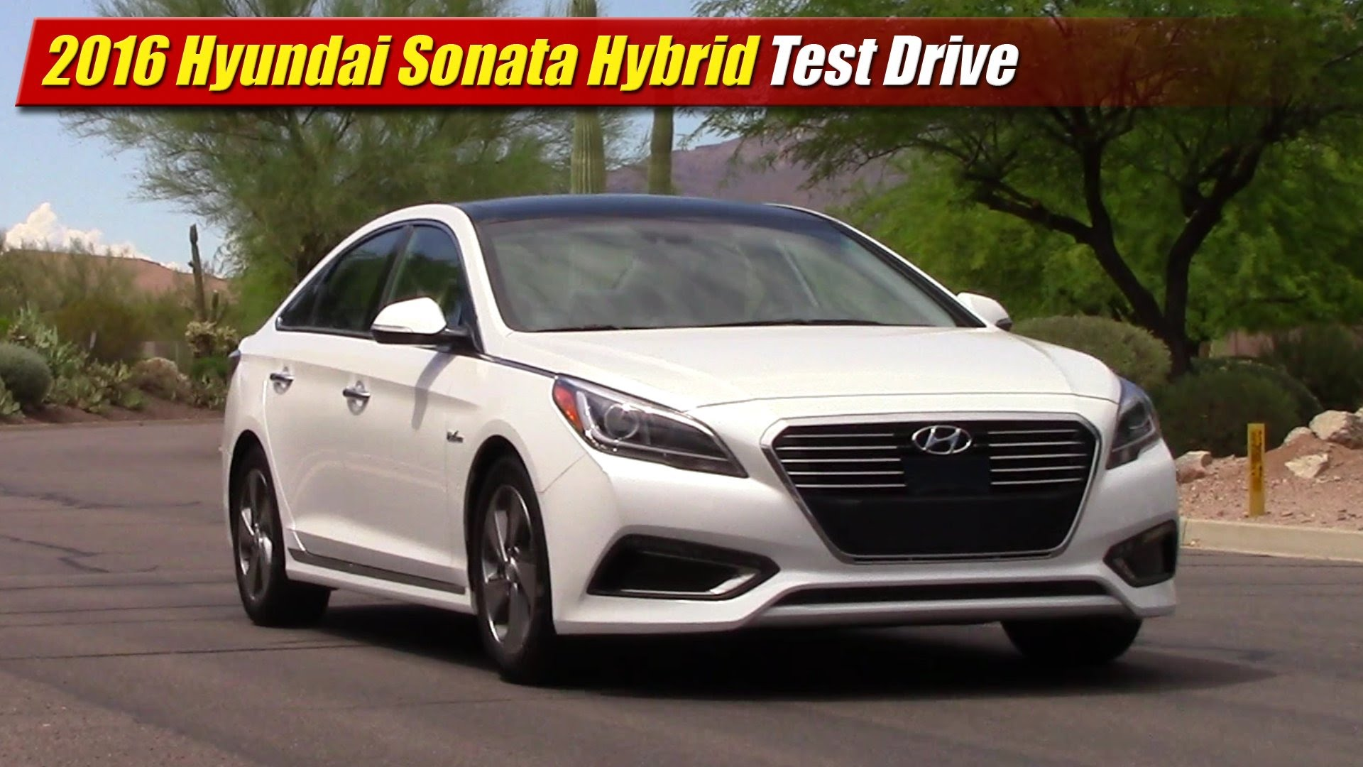 test drive 2016 hyundai sonata hybrid testdriven tv. Black Bedroom Furniture Sets. Home Design Ideas