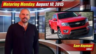 Motoring Monday: August 10, 2015