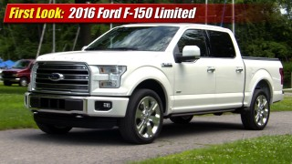 First Look: 2016 Ford F-150 Limited
