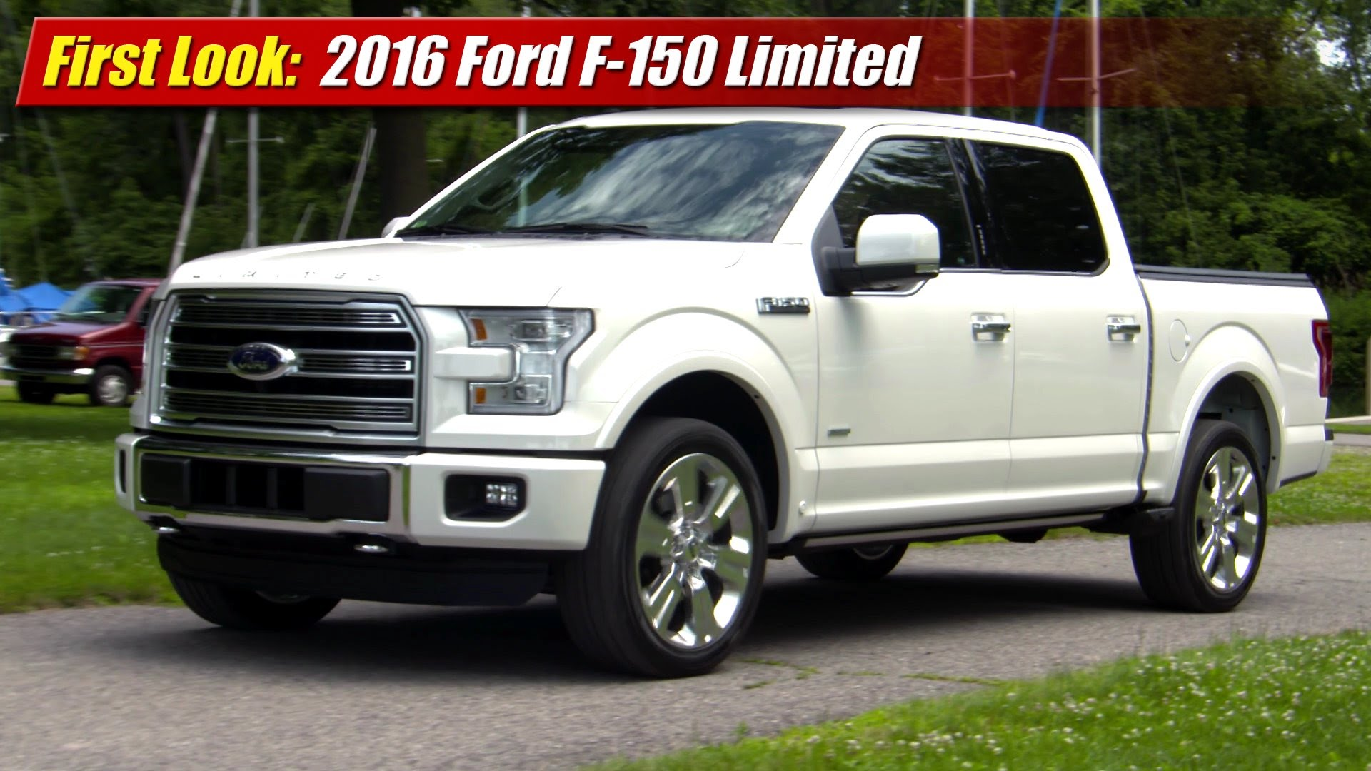 first look 2016 ford f 150 limited testdriven tv. Black Bedroom Furniture Sets. Home Design Ideas