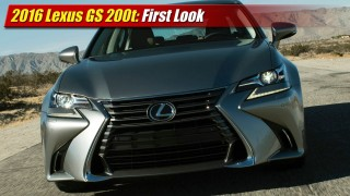 First Look: 2016 Lexus GS 200t