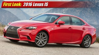 First Look: 2016 Lexus IS