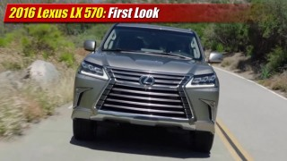 First Look: 2016 Lexus LX 570