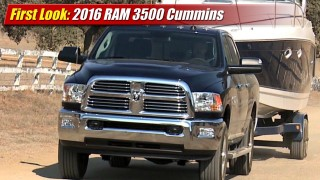 First Look: 2016 RAM 3500 Cummins