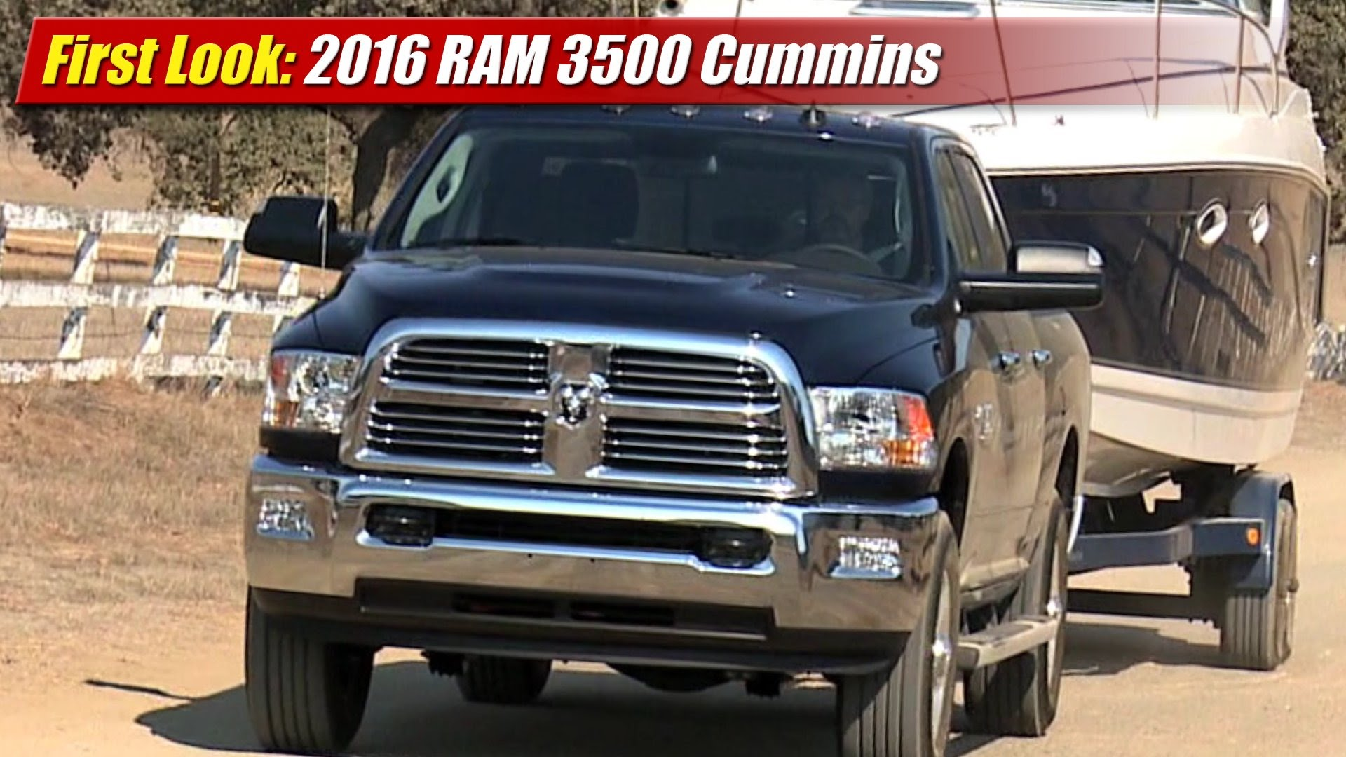 first look 2016 ram 3500 cummins testdriven tv. Black Bedroom Furniture Sets. Home Design Ideas
