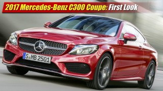 First Look: 2017 Mercedes-Benz C300 Coupe