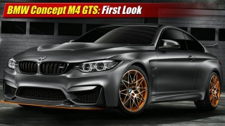 First Look: BMW Concept M4 GTS