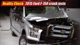 Reality Check: 2015 Ford F-150 crash tests