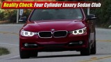 Reality Check: Four-Cylinder Luxury Sedan Club
