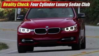 Reality Check: Four-Cylinder Luxury Sedan Club