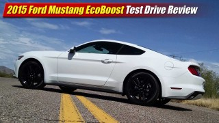 Test Drive Review: 2015 Ford Mustang EcoBoost