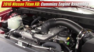 2016 Nissan Titan XD: Cummins Engine Assembly