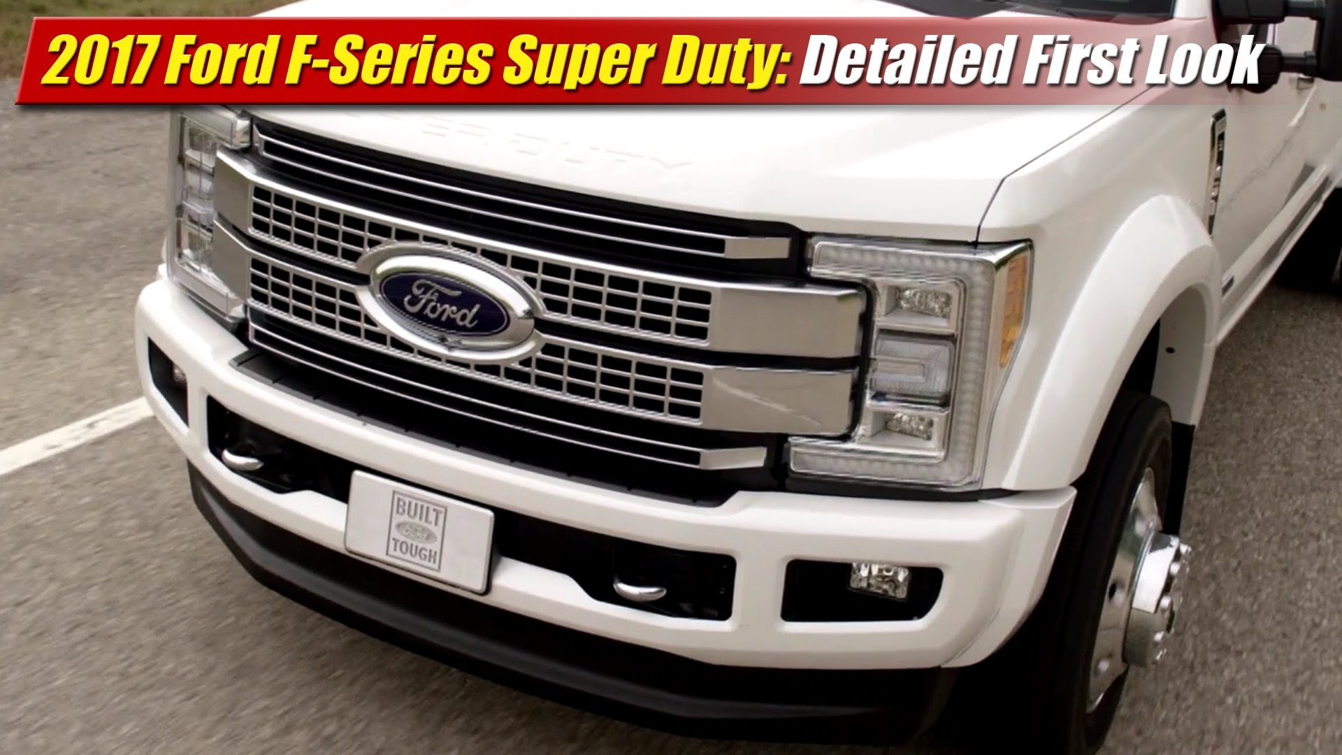detailed first look 2017 ford f series super duty. Black Bedroom Furniture Sets. Home Design Ideas