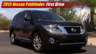 First Drive: 2015 Nissan Pathfinder