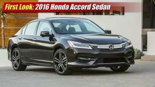 First Look: 2016 Honda Accord Sedan