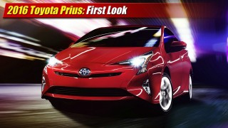 First Look: 2016 Toyota Prius
