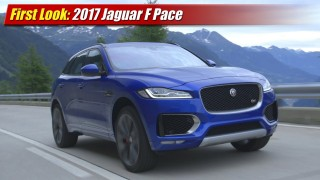 First Look: 2017 Jaguar F Pace