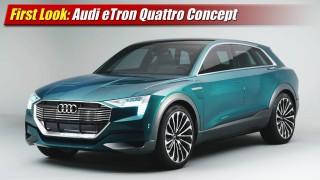 First Look: Audi eTron Quattro Concept