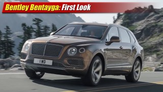 First Look: Bentley Bentayga