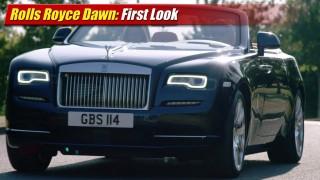 First Look: Rolls Royce Dawn