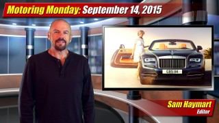 Motoring Monday: September 14, 2015