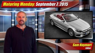 Motoring Monday: September 7, 2015