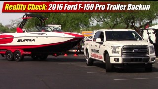 Reality Check: 2016 Ford F-150 Pro Trailer Backup Assist