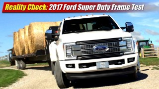 Reality Check: 2017 Ford Super Duty Frame Test