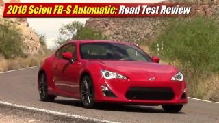 Test Drive Review: 2016 Scion FR-S