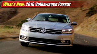 What's New: 2016 Volkswagen Passat