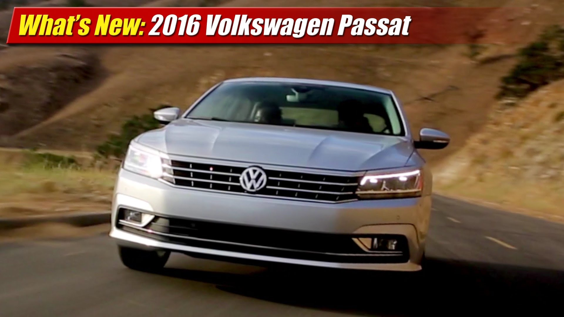 what 39 s new 2016 volkswagen passat testdriven tv. Black Bedroom Furniture Sets. Home Design Ideas