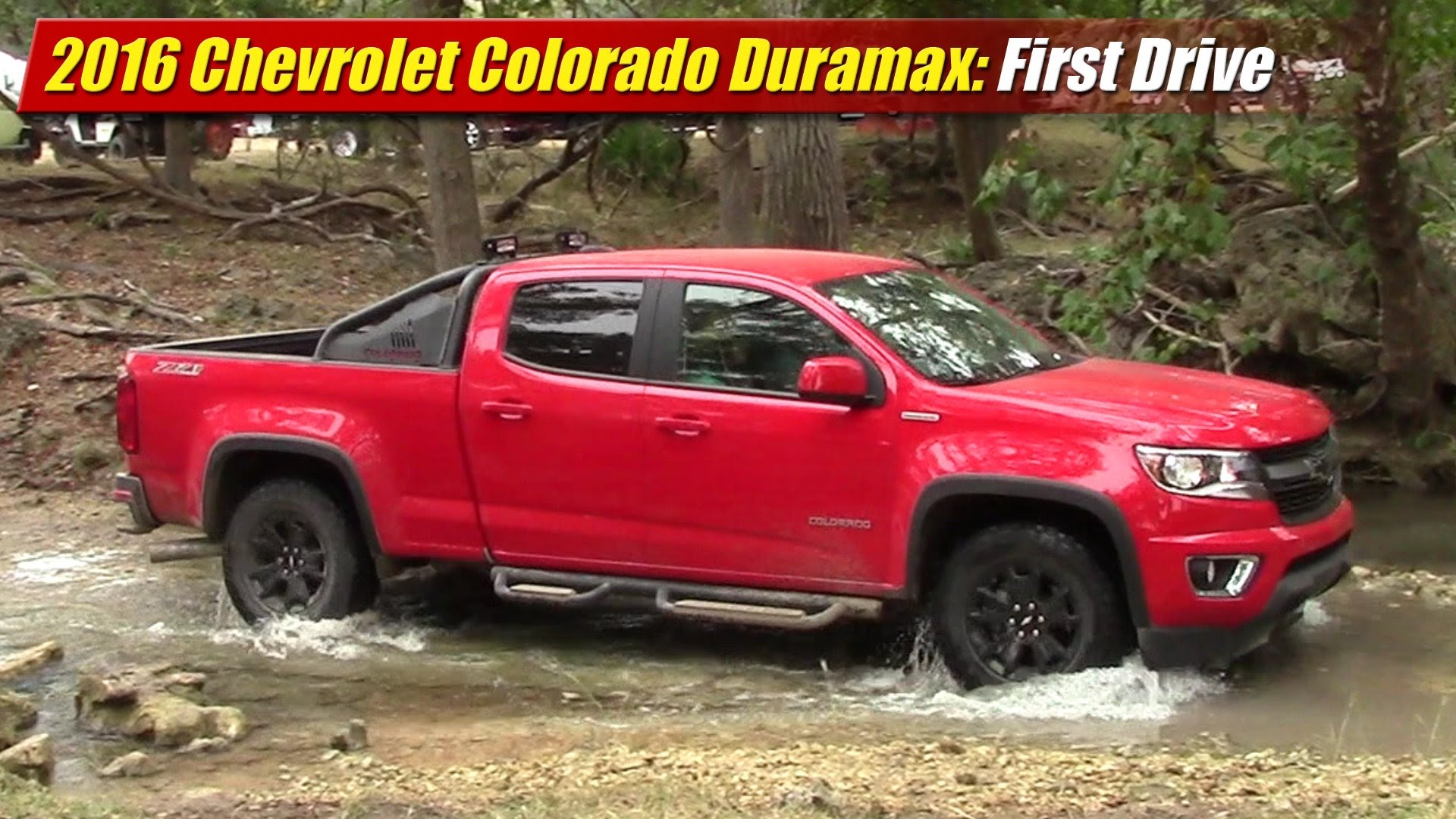first drive 2016 chevrolet colorado duramax testdriven tv. Black Bedroom Furniture Sets. Home Design Ideas