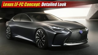 Lexus LF-FC Concept: Detailed Look