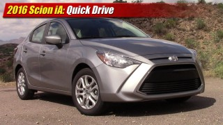 Quick Drive: 2016 Scion iA