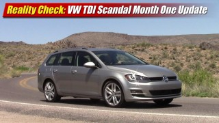 Reality Check: Volkswagen TDI Scandal Month One Update