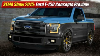 SEMA Show 2015: Ford F-150 Concepts Preview