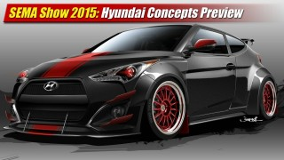 SEMA Show 2015: Hyundai Concepts Preview