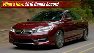 What's New: 2016 Honda Accord