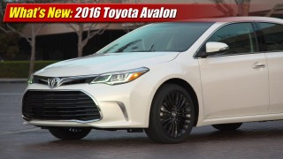 What's New: 2016 Toyota Avalon