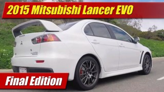 2015 Mitsubishi Lancer EVO: Final Edition