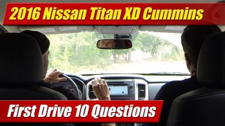2016 Nissan Titan XD: First Drive 10 Questions