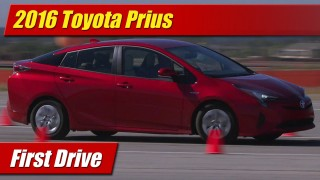 First Drive Review: 2016 Toyota Prius