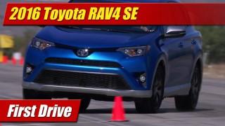 First Drive: 2016 Toyota RAV4 SE