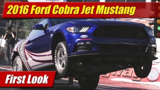 First Look: 2016 Cobra Jet Mustang