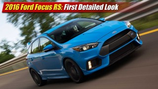 First Look: 2016 Ford Focus RS
