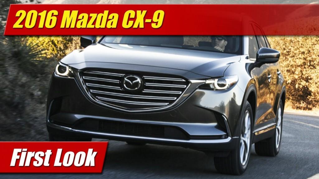 Unique First Look 2016 Mazda CX9  TestDrivenTV