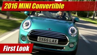 First Look: 2016 Mini Convertible
